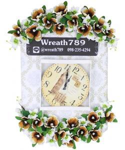พวงหรีดนาฬิกา แบบที่ 95b
