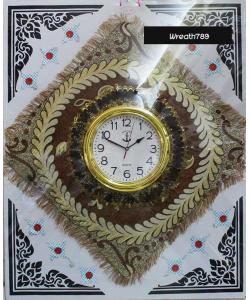 พวงหรีดผ้าอาสนะนาฬิกา 51b