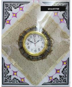 พวงหรีดผ้าอาสนะนาฬิกา 51e