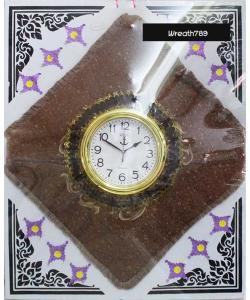พวงหรีดผ้าอาสนะนาฬิกา 51f