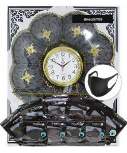 พวงหรีดผ้านาโน นาฬิกา 521a