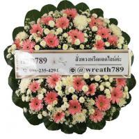 พวงหรีดดอกไม้สด แบบที่1513