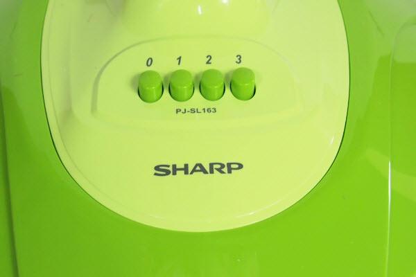 พัดลม Sharp ฐานสีเขียว
